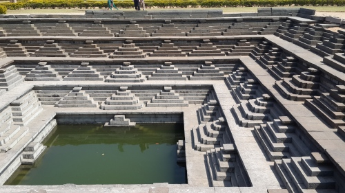Stepwell - Hampi, North Karnataka State