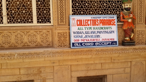 The handicrafts within were far finer than the orthography