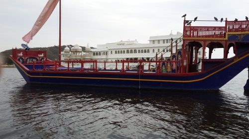 Nowadays the royal barge is only for decor or the occasional VIP hotel guest.