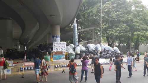 Recycling: part of Hong Kong's revolution