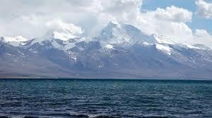 Lake Manasarovar. 4590 m.