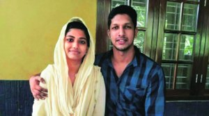 Anshida and Gautham, in the Indian Express Nation online edition if November 12.