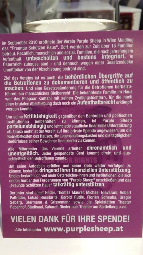 Purple Sheep's Agenda