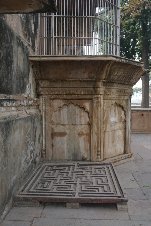 The Maharaja's pet tiger lived in adjoining quarters