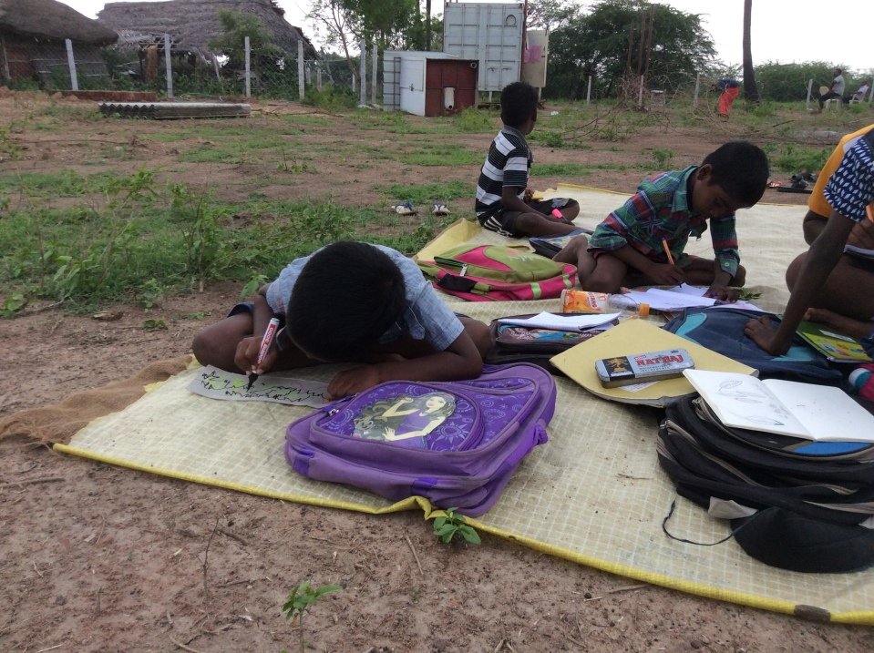 Who needs a container when kids are hungry to learn?